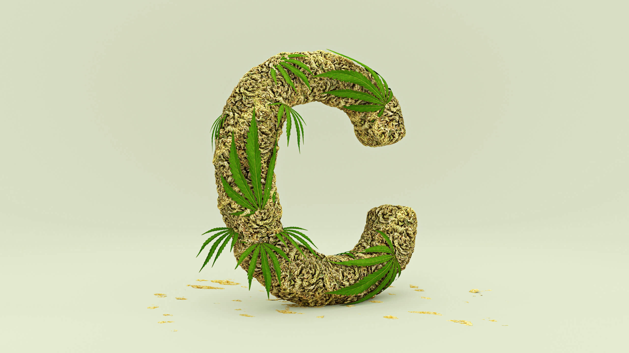 Buchstabe C symbolhaft umgesetzt