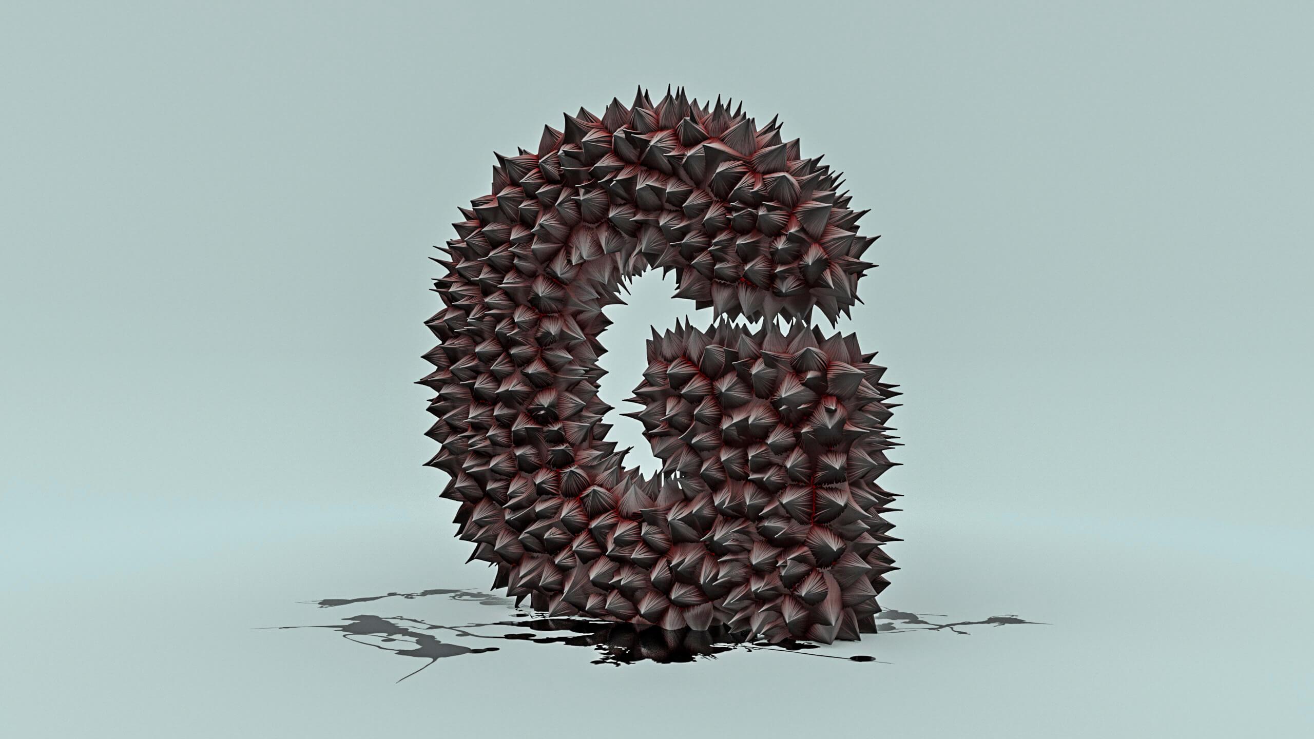 Buchstabe G symbolhaft umgesetzt